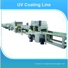 Alto brillo mobiliario / madera UV máquina de recubrimiento