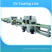 High glossy furniture/wood UV coating machine
