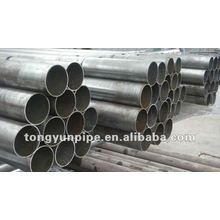 ASTM A53 Gr.B seamless steel pipe with black coating ,bevelled end with caps