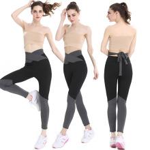 Correspondência de cores calças de ioga para mulheres