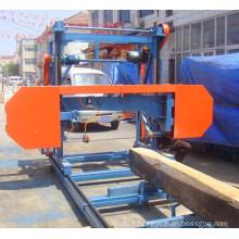 Scierie de bande en gros de Chine, scierie portative bois circulaire, scie à ruban de scierie (modèle de moteur Diesel de MS1000D)