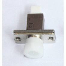 Mu-FC Simplex Metall Faser Optischer Adapter