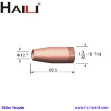 """Buse de soudage Miller 047959 1/2 """"pour pistolet GA-40C"""