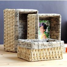 (BC-CB1006) Alta qualidade elegante Handcraft Natural Cornhusk Basket