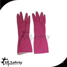SRSAFETY latex household wash glove scrubbing glove manufacturer