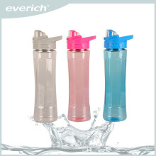 New product square plastic mineral water bottle for kids