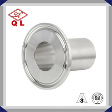 Acero inoxidable 304 316 Grifería de sujeción sanitaria Tri Clamp con junta de silicona