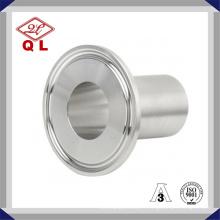Acier inoxydable 304 316 Fermeture sanitaire Tri Clamp Ferule avec joint en silicone