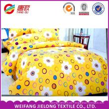 Serie feliz anillo de tela de ropa de cama de algodón