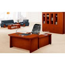 Secretária de computador de madeira simples