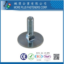 Made in Taiwan Carbon Steel Stainless Steel Flat Countersunk Elevator Bolt