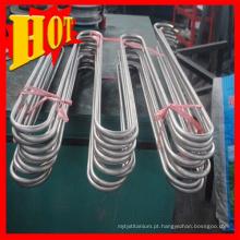 Preço de bobina de resfriamento de tubo de titânio sem emenda em Baoji