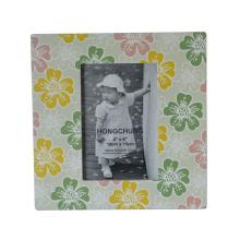 Wooden Silk-Screen Photo Frame for Home Decor