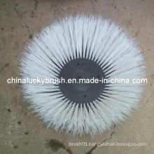 White PP Material Brush for Road Sweeper Machine (YY-213)