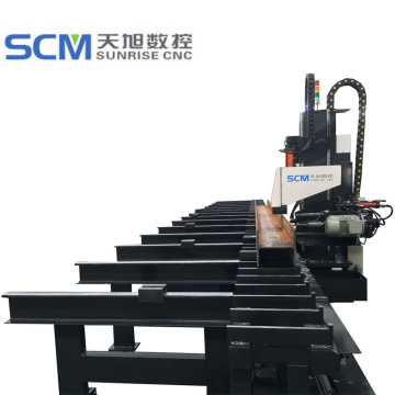 CNC Beam Channel Drilling Machine