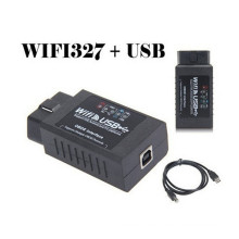 Auto diagnóstico interfaz Elm 327 USB WiFi Scanner