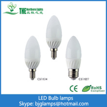 3W LED Candle lamps of Indoor Lighting