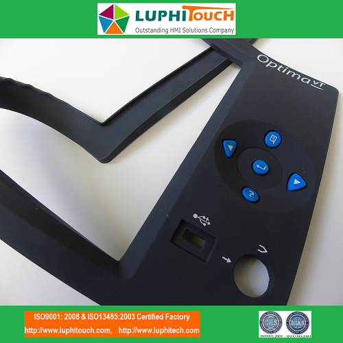 Optima VT Testing Equipment Rubber Keypad