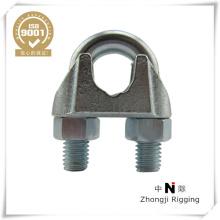 Nos de tipo clip de cuerda de alambre galvanizado eléctrico del hierro maleable