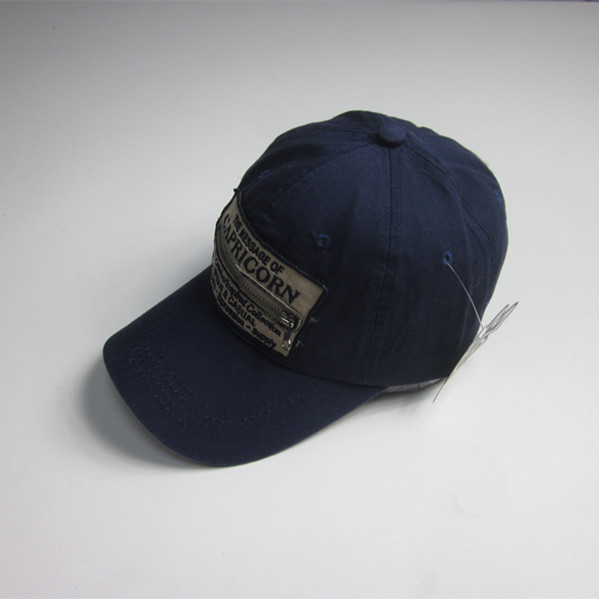 Novelty Sports Cap with Zipper Pocket