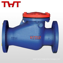 din2532-2533 3 4 inch pn16 cast iron swing check valve pump