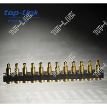 12p SMT Spring Loaded Pogo Pin Connector