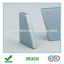 permanent sintered neodymium magnets trapezoid