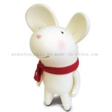 Custom Creative Soft Plastic Craft Mouse Saving Money Box Toy