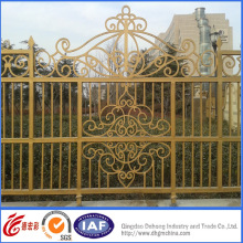 Galvanized High Quality Wrought Iron Fence