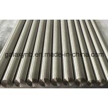 Calidad alta Gr1 puro titanio recto barra redonda