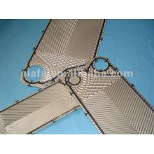 Junta y VT10 316 L placa de intercambiador de calor de placa