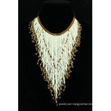 unique design handmade bead necklace