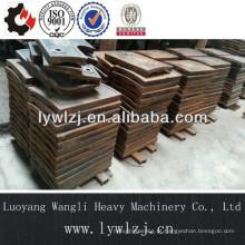 Peças de fundição de aço resistente ao desgaste