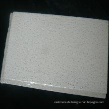 Micro Edge texturierte feuerfeste mineralische Deckenplatte