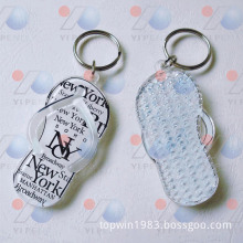 Slipper Shape Acrylic Key Chain (Ak-006)