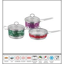 Color Saucepan Saucepot Frypan