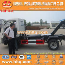 FOTON FORLAND 4X2 new model 4.5 cubic 98hp waste collecting truck cheap price with good quality in China