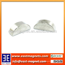 Imán del neodimio del medio anillo para la venta / imán especial del neodimio de la forma para la venta