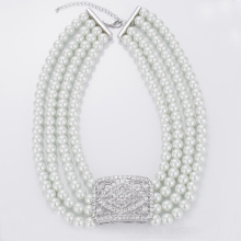 Fast Delivery for Heart Pendant Necklace Multi Strand Faux Pearl Necklace Bulk supply to Marshall Islands Factory