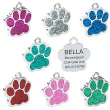 Etiquetas de nombre lindas del perro personalizadas