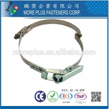 Made in Taiwan Stainless Steel Schlauchklemmen Quick Release Pipe Hose Clamp