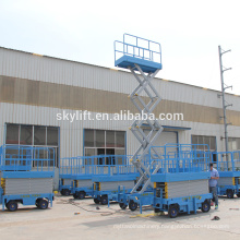 Famous Mark Mobile electro-hydraulic scissor lift
