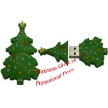 Promotional Christmas Tree USB Stick, USB Memory Disk