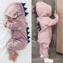 Newborn Baby 100% Cotton Adorable Dinosaur Newborn Baby Clothes Organic Baby Romper Clothing
