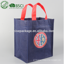 high quality non woven 6 bottle wine bottle carry bags