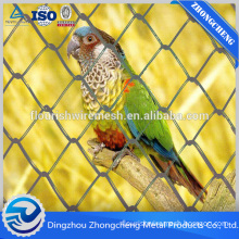 Galvanized chain link fence wire fencing/PVC coated diamond hole wire mesh