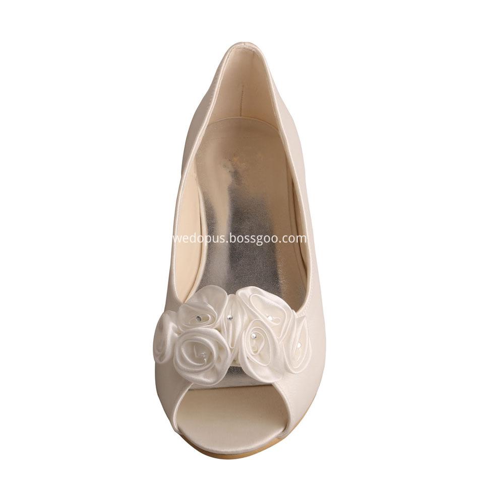 Ballet Flats Peep Toe