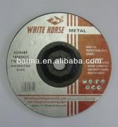 Three-Faced Reinforced Metal Abrasive Grinding Wheel