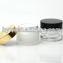 bouteilles et bocaux en verre crème cosmétique