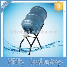 HF-BS001 Soporte de botellas con grifo Soporte de botellas de agua de 5 galones con grifo de agua potable Soporte de exhibición de botellas con grifo